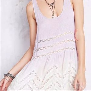 Free People • Voile and Lace Trapeze Tunic Top
